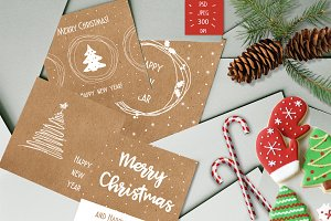 Simple Christmas cards!