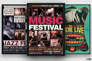 Concert Flyer Bundle V1