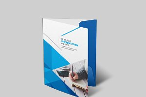 Clean Corporate Folder