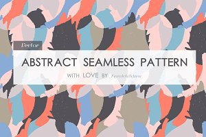 Modern abstract seamless pattern.