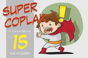 Super Coplak Sticker