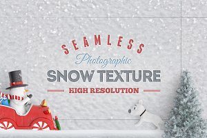 Seamless Snow Texture