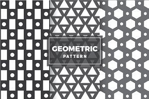 Geometric Vector Patterns #4
