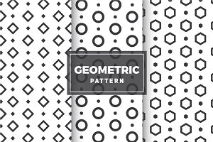 Geometric Vector Patterns #5