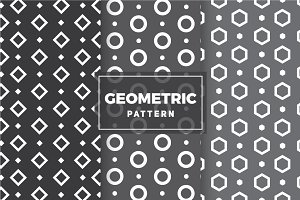 Geometric Vector Patterns #6