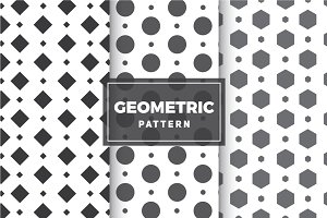 Geometric Vector Patterns #7