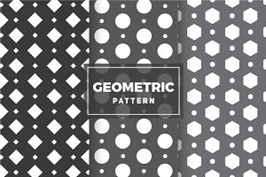 Geometric Vector Patterns #8