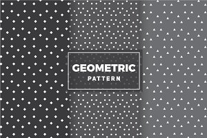 Geometric Vector Patterns #10