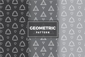 Geometric Vector Patterns #20