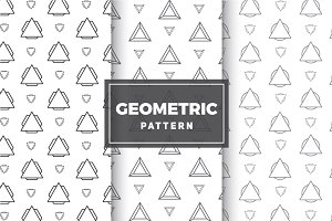 Geometric Vector Patterns #19