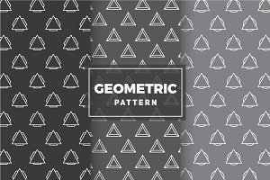 Geometric Vector Patterns #18