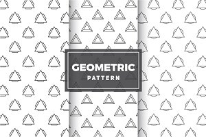 Geometric Vector Patterns #17