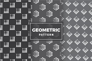 Geometric Vector Patterns #16