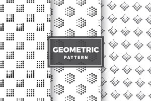 Geometric Vector Patterns #15