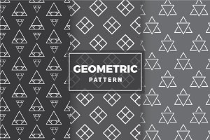 Geometric Vector Patterns #14
