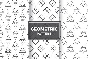 Geometric Vector Patterns #13