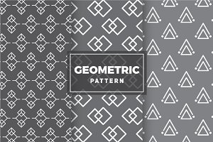 Geometric Vector Patterns #12