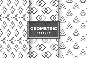 Geometric Vector Patterns #11