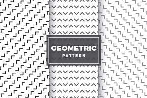 Geometric Vector Patterns #25