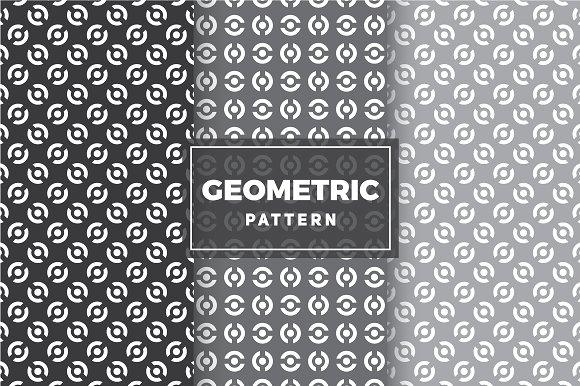 Geometric Vector Patterns #50