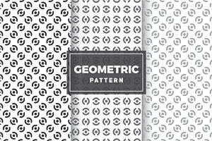 Geometric Vector Patterns #49
