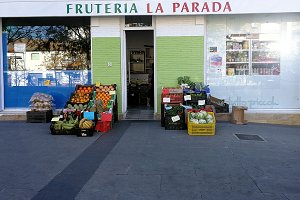 Fruit shop on the street