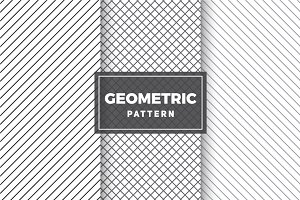 Geometric Vector Patterns #57