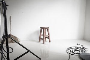 Wooden chairs and Cleaning