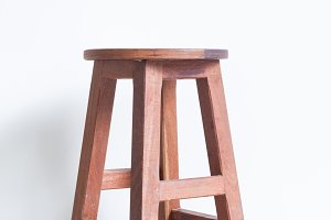 Chair made ​​of wood