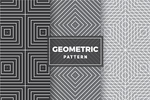 Geometric Vector Patterns #62