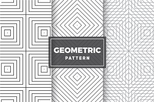 Geometric Vector Patterns #61