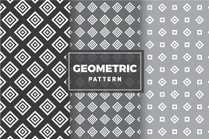 Geometric Vector Patterns #80