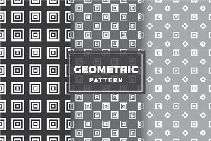 Geometric Vector Patterns #78
