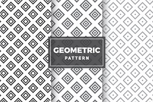 Geometric Vector Patterns #75