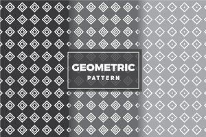 Geometric Vector Patterns #72