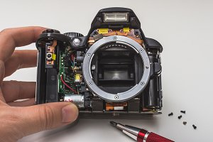 Digital SLR camera repair