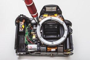 Digital SLR camera repair