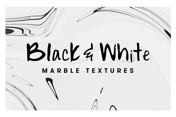 10 Black & White Marble Tex-Graphicriver中文最全的素材分享平台