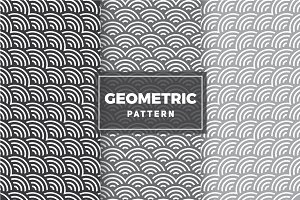 Geometric Vector Patterns #84