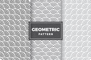 Geometric Vector Patterns #83