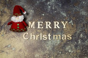 Background with Merry Chistmas