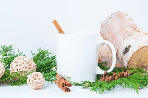 Hot Cider Mug Mockup