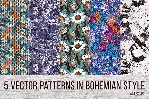 5 Bohemian patterns