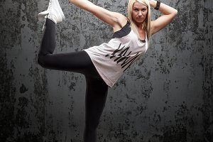 Urban hip hop dancer