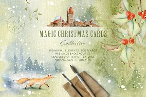 Magic Winter Watercolors