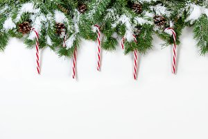 Candy Cane Decor for Christmas