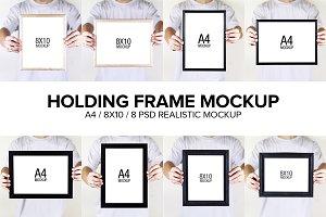 Holding Frame Mockup