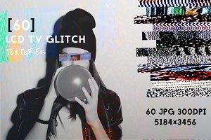 60 TV Glitch Textures