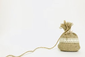Simple burlap sack
