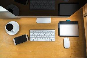 workspace mockup concept